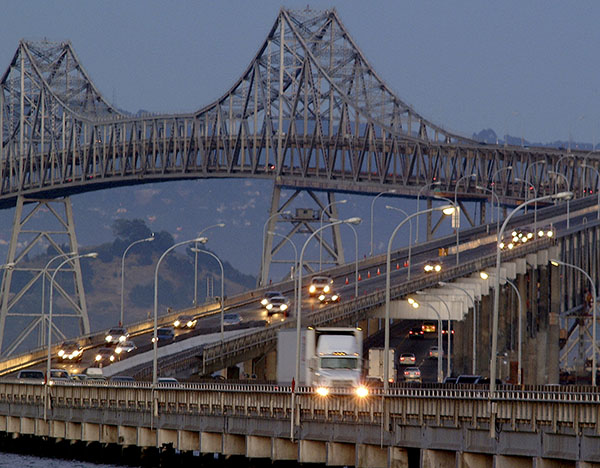 Richmond - San Rafael Bridge - Contra Costa and Marin Counties, CA