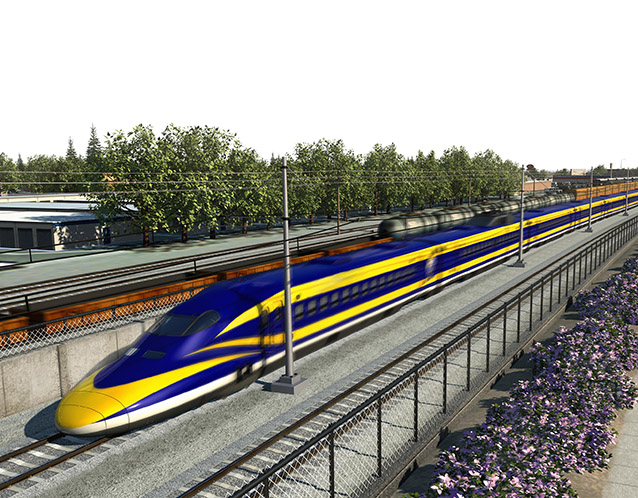 California High-Speed Rail - Madera, CA to Fresno, CA