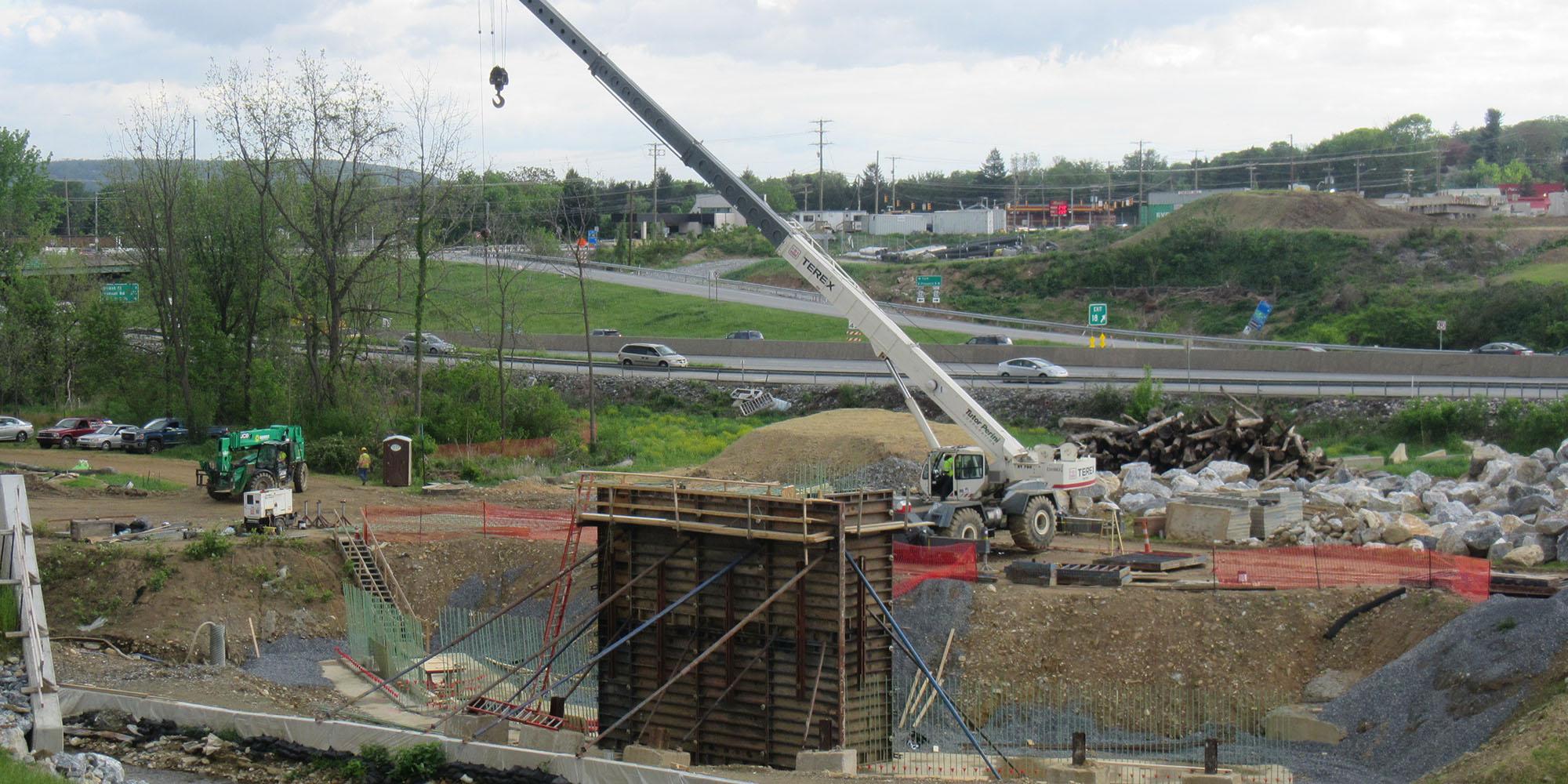 I 83 Exit 18 Renovation