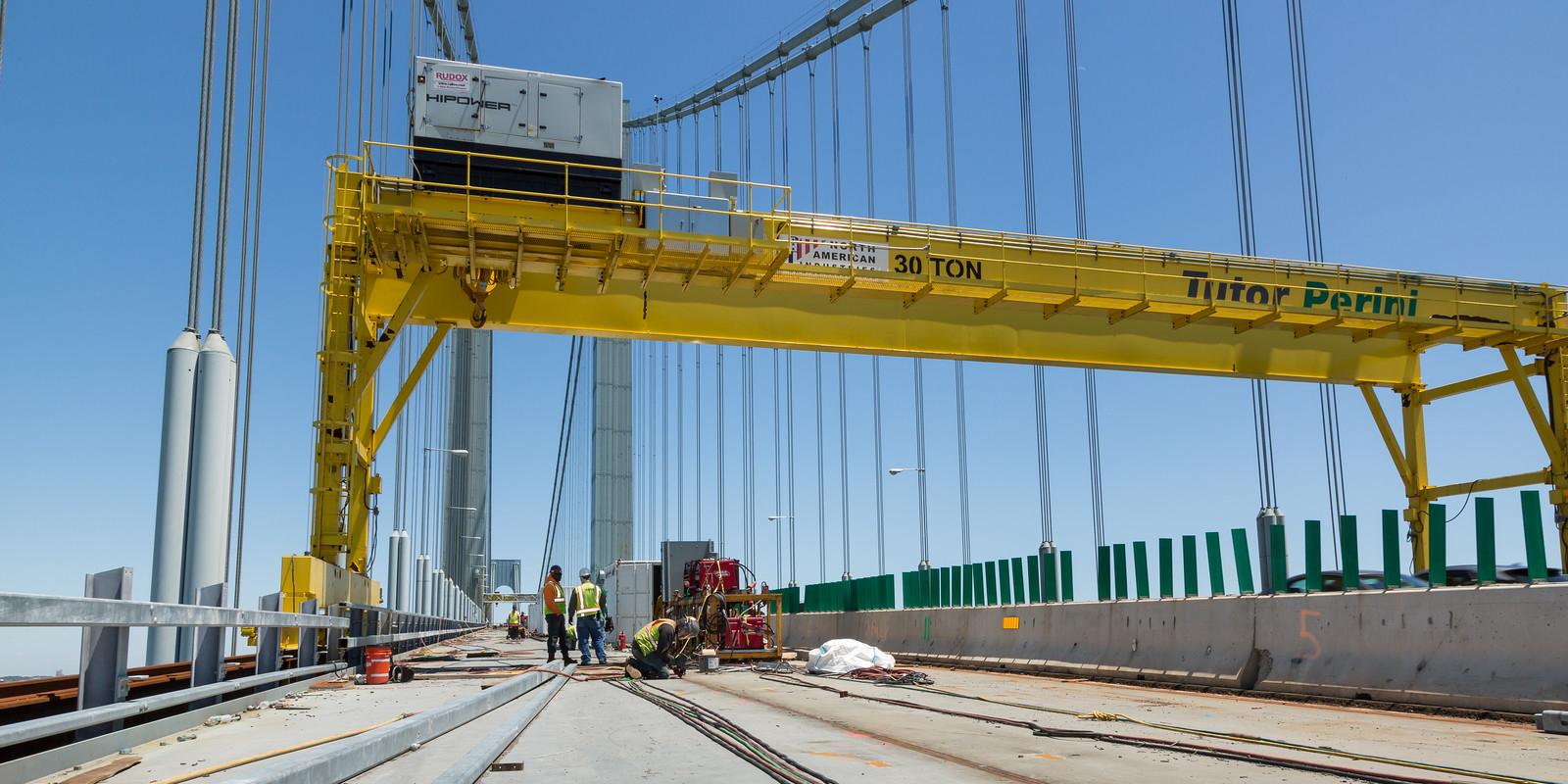Verrazano Narrows Bridge Deck Replacement