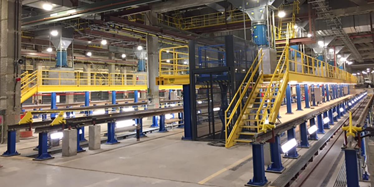 Hudson Yards Maintenance Of Equipment Building